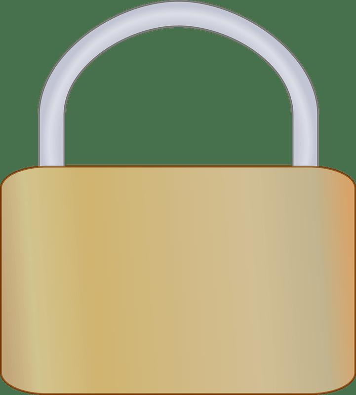 Lock clipart transparent for kid