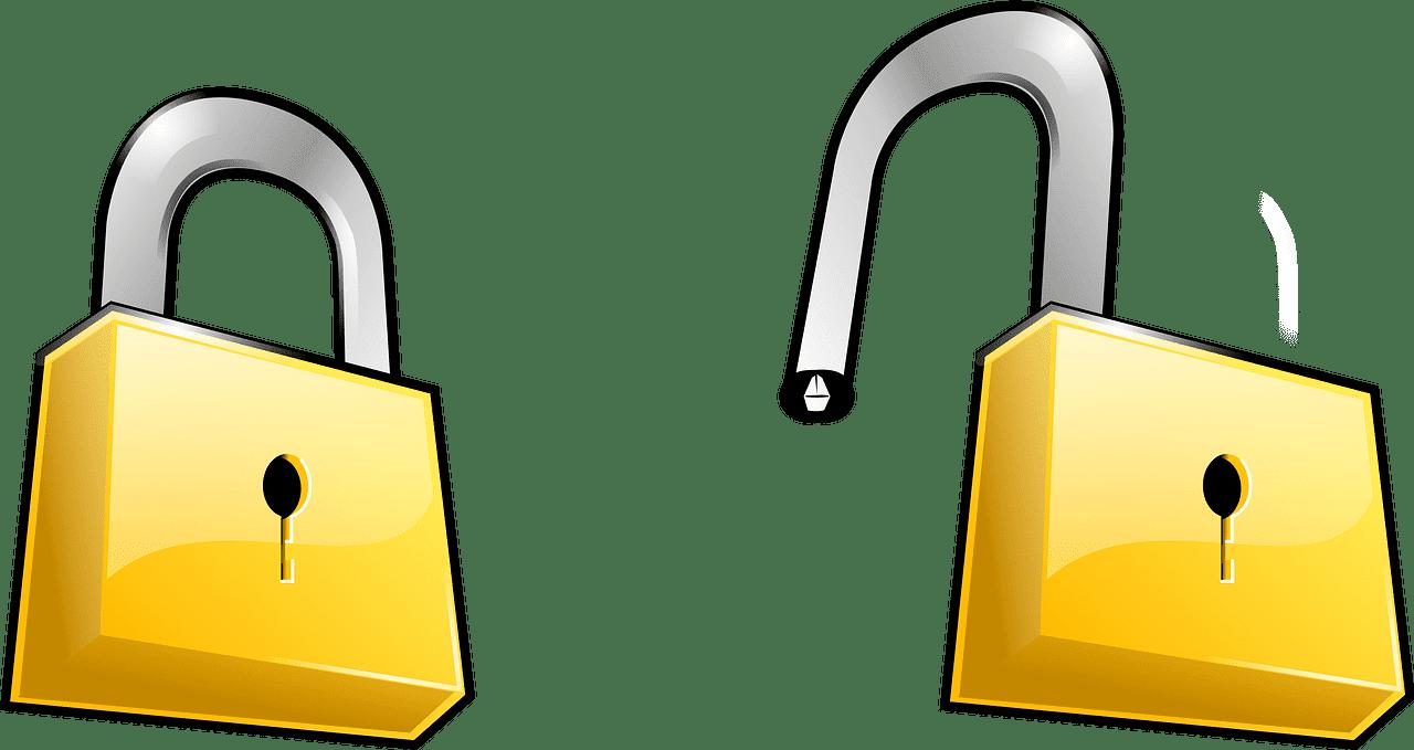 Lock clipart transparent