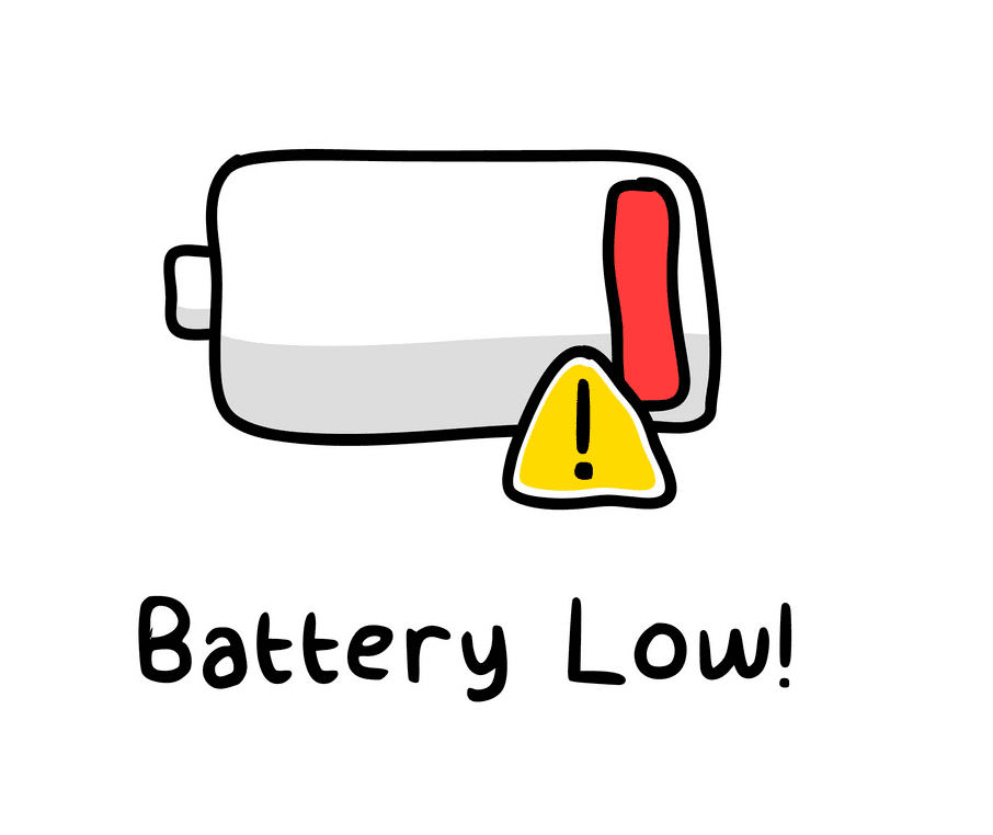 Low Battery clipart png
