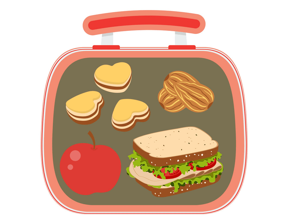Lunch Box clipart for free