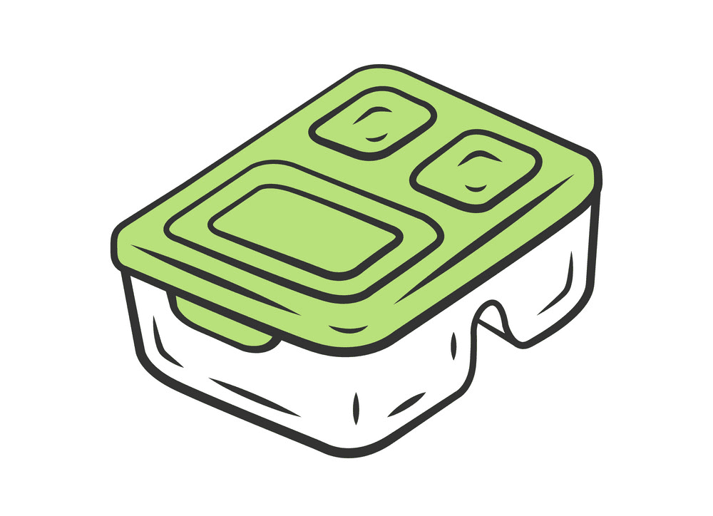 Lunch Box clipart free image
