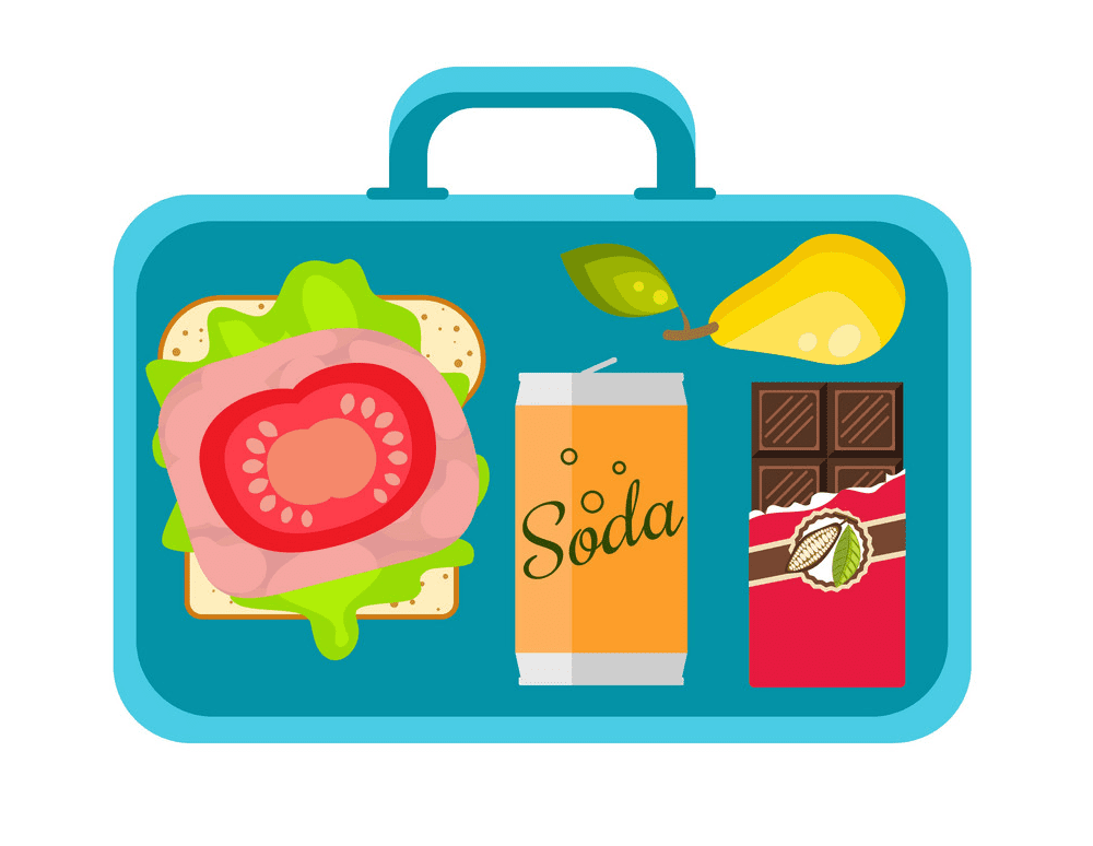 Lunch Box clipart images