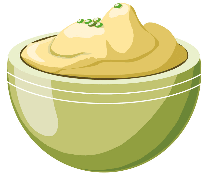 Mashed Potato clipart for free