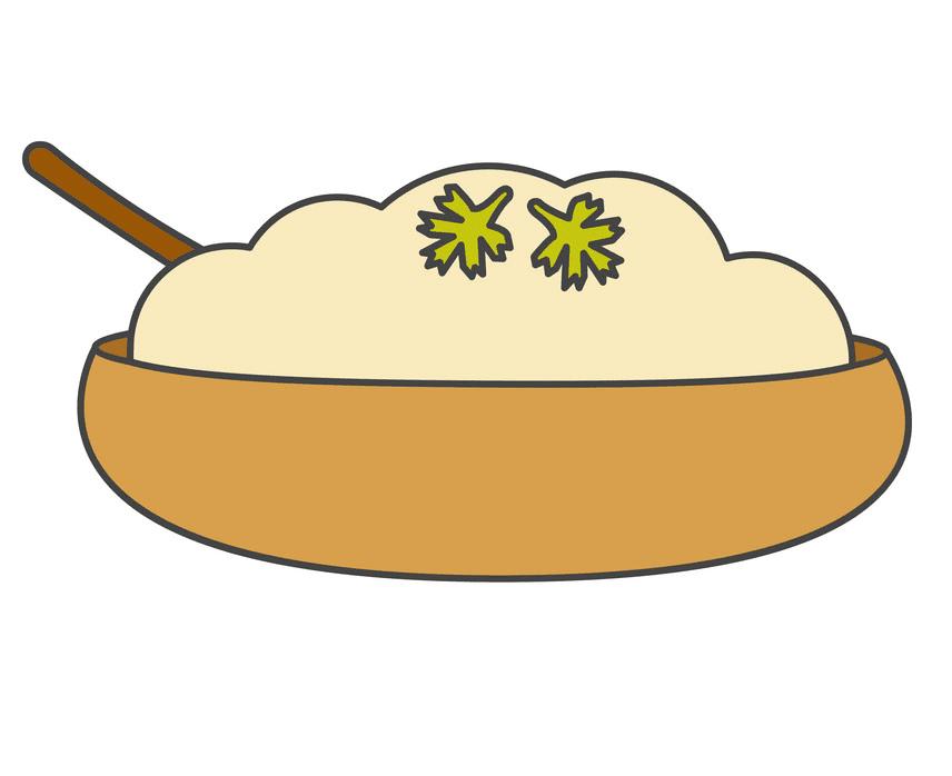 Mashed Potato clipart picture