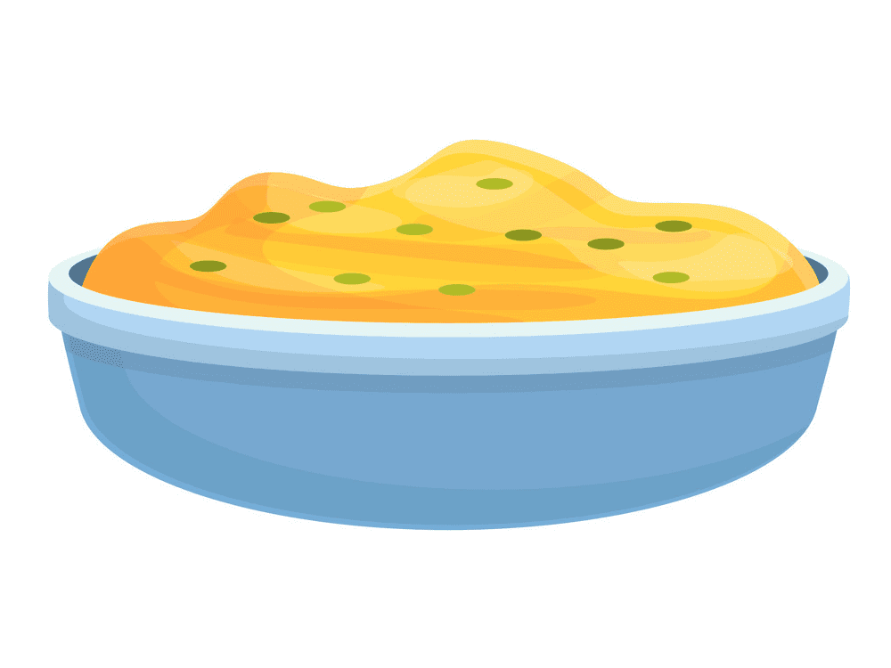 Mashed Potato clipart png image