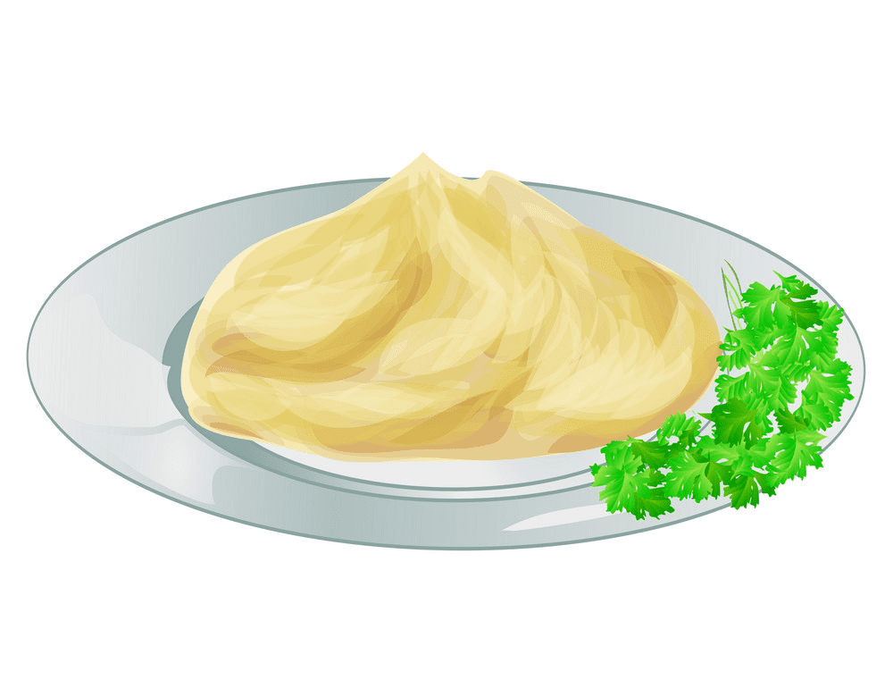 Mashed Potato clipart png