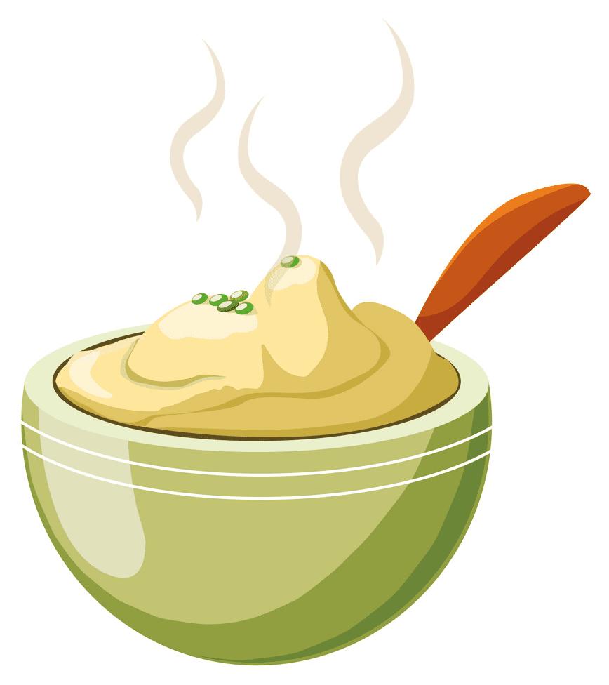 Mashed Potato clipart