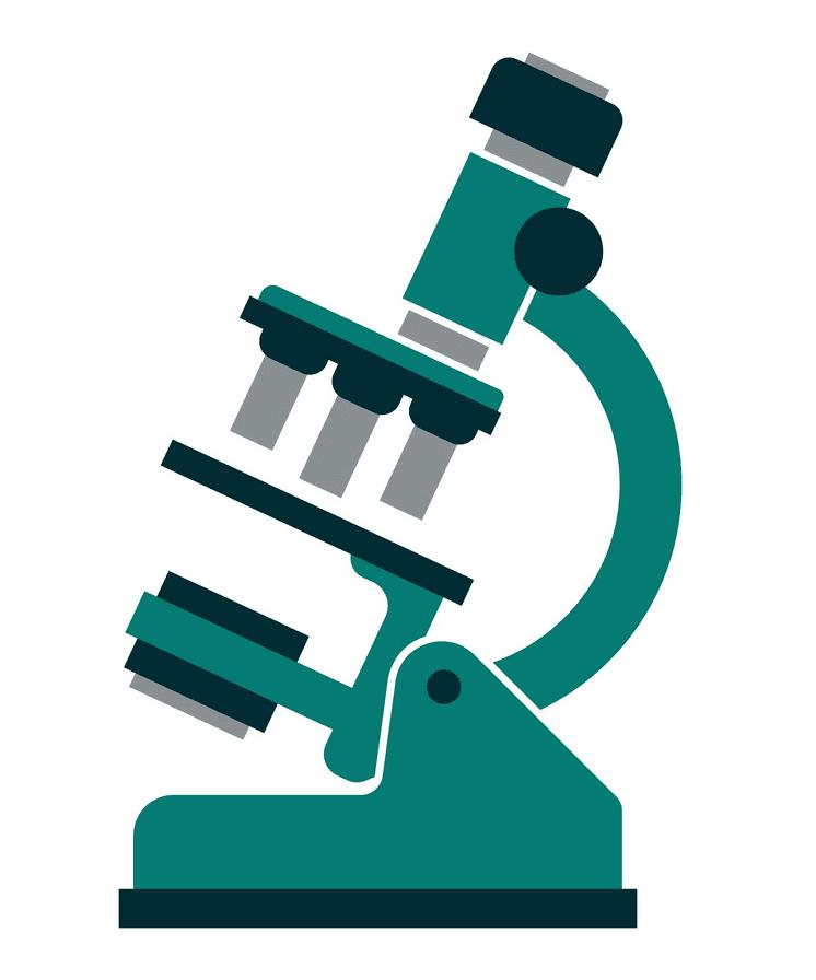 Microscope clipart 6