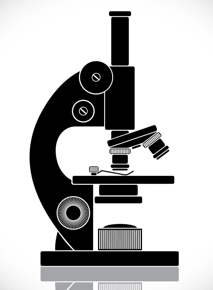 Microscope clipart free for kids