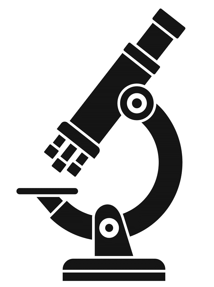 Microscope clipart png for kids