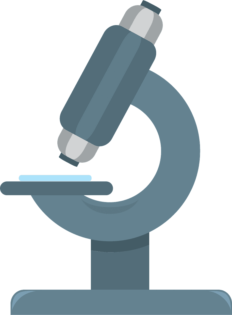 Microscope clipart transparent 2