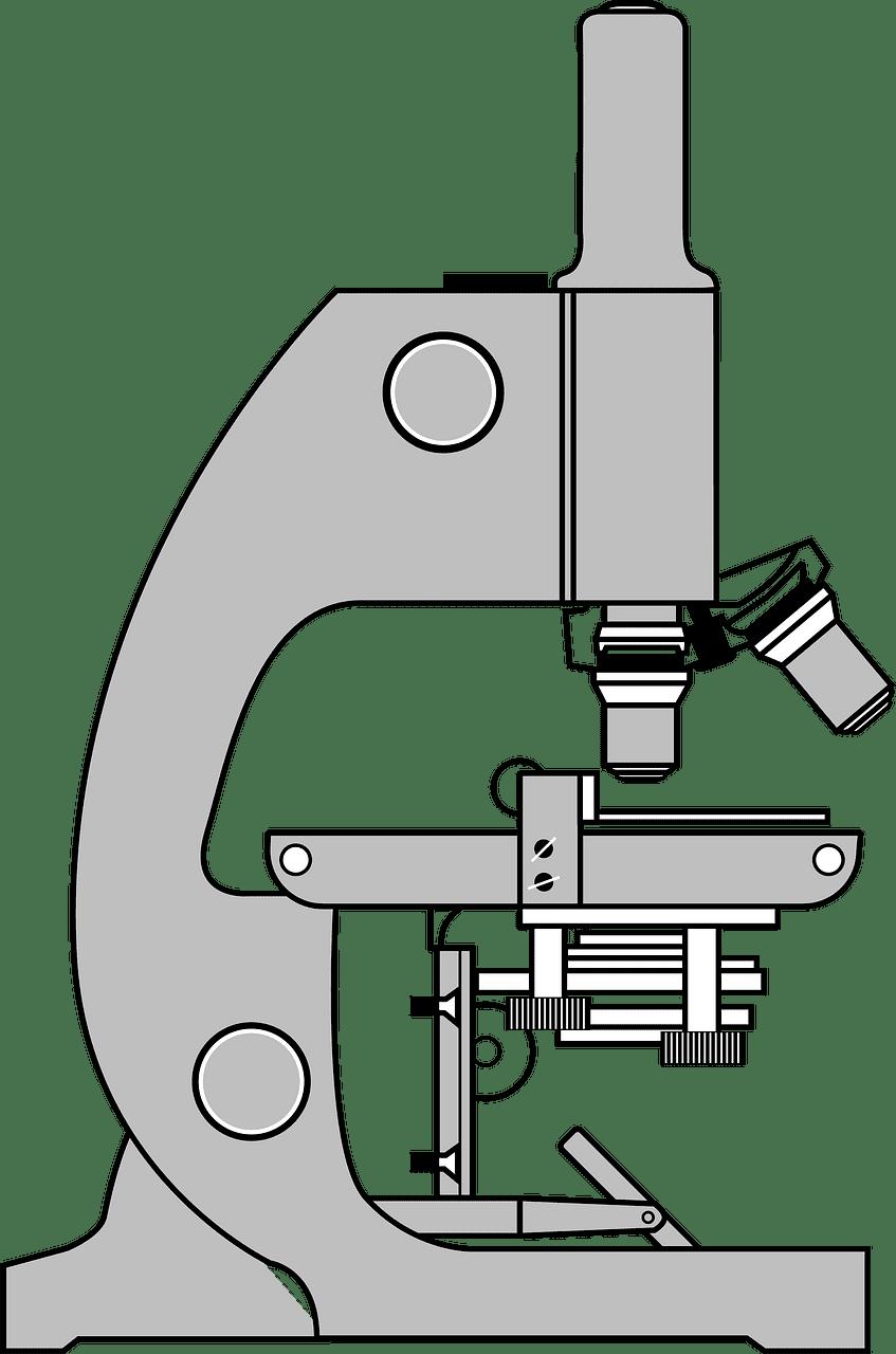Microscope clipart transparent 3