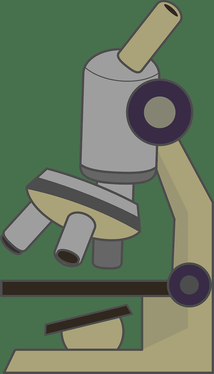 Microscope clipart transparent 4