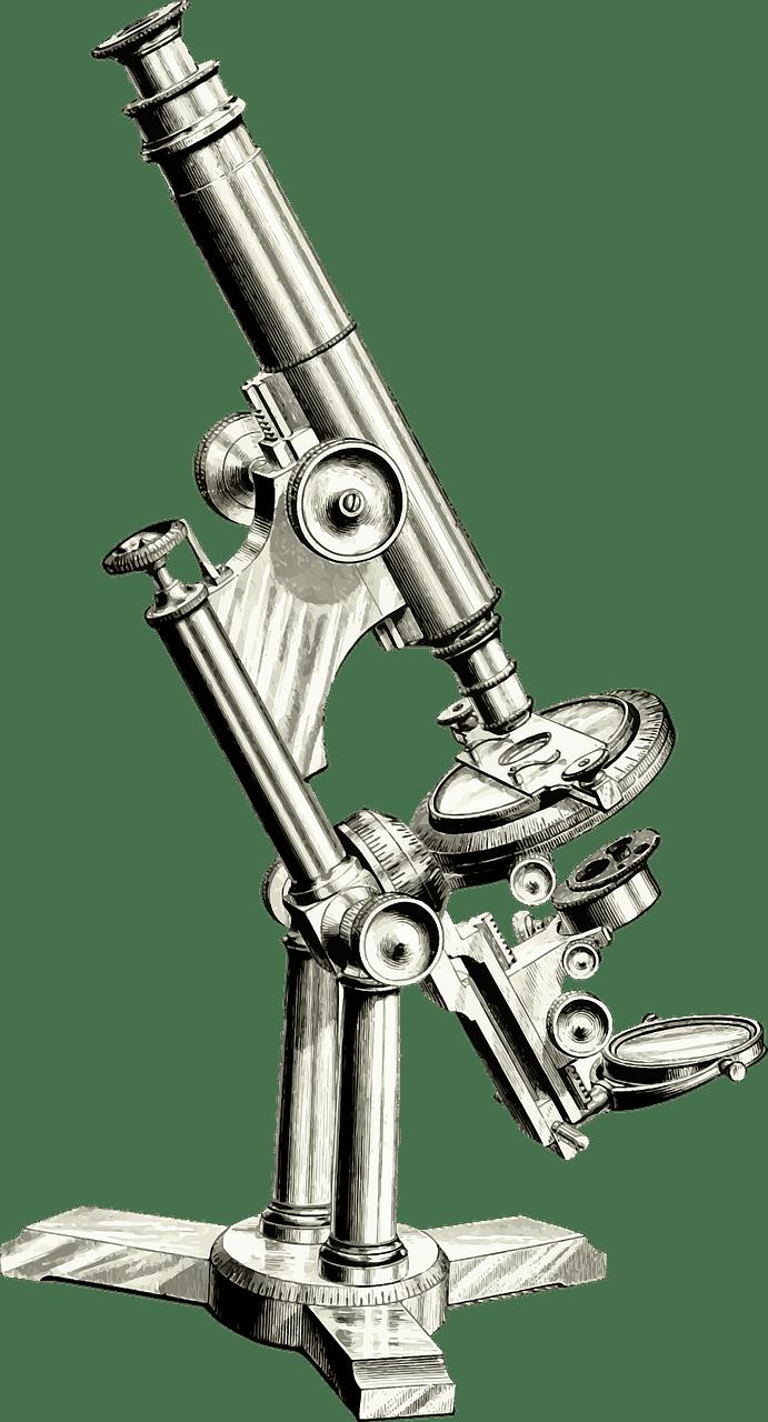 Microscope clipart transparent 6