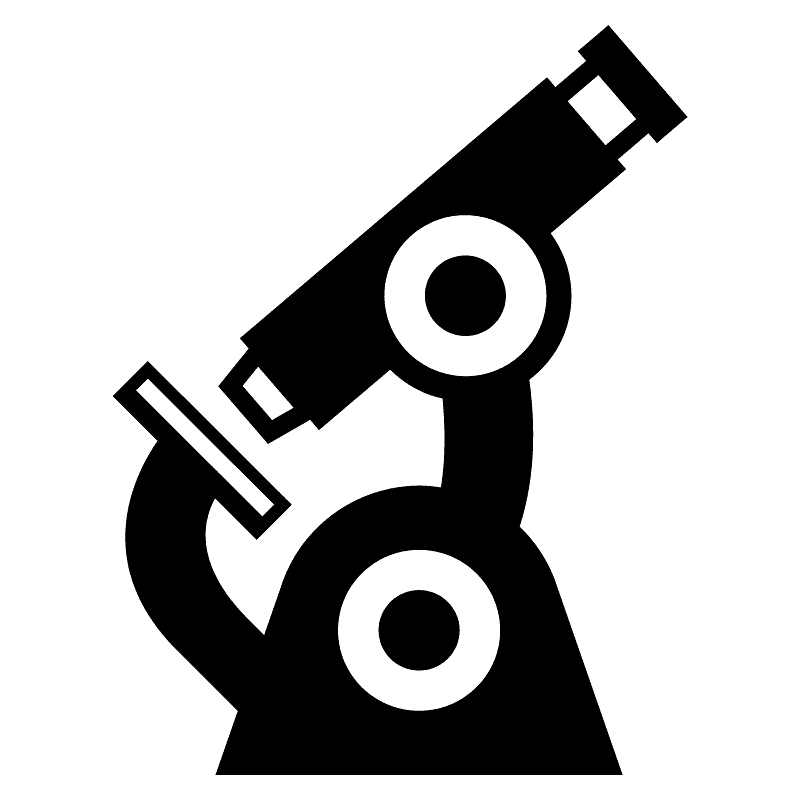 Microscope clipart transparent background 2