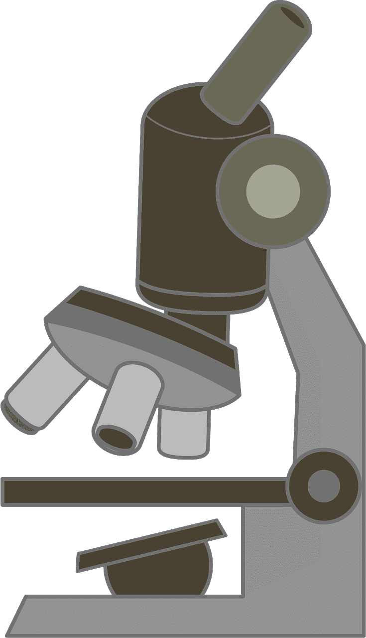 Microscope clipart transparent background 8