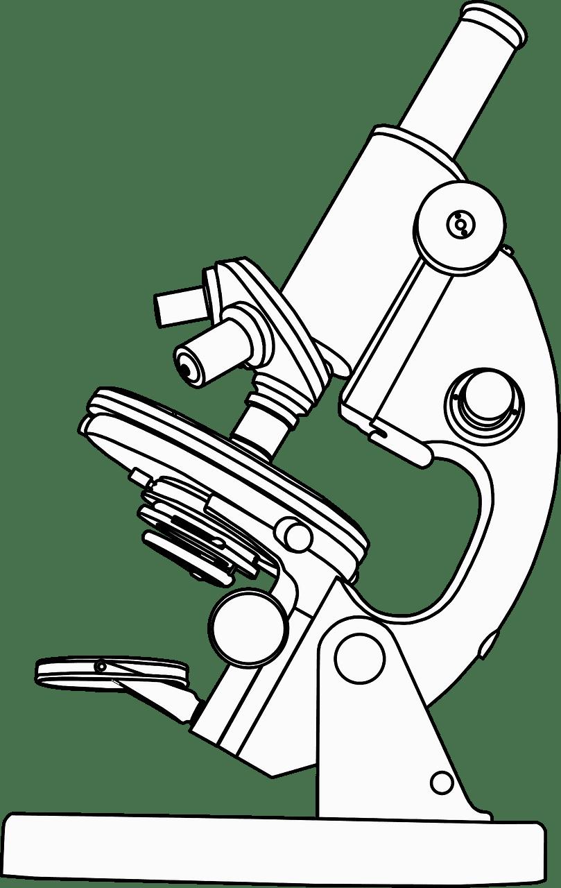 Microscope clipart transparent free