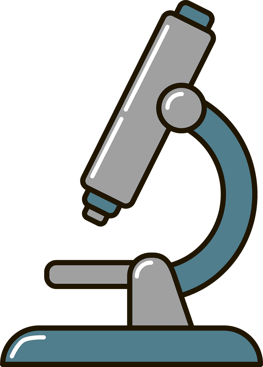 Microscope clipart transparent picture