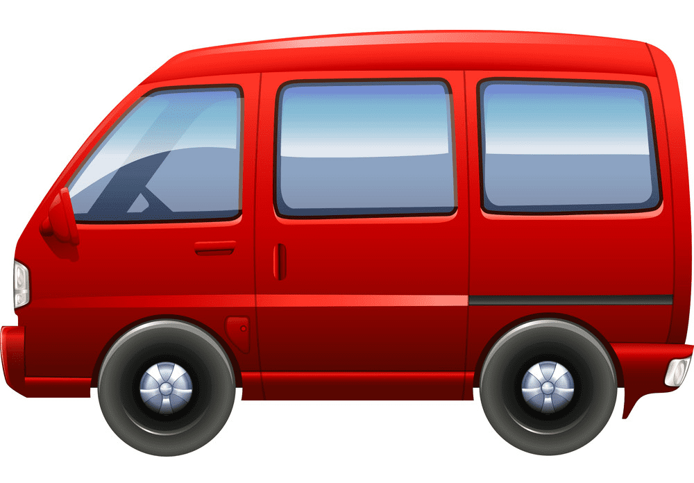 Mini Van clipart for free