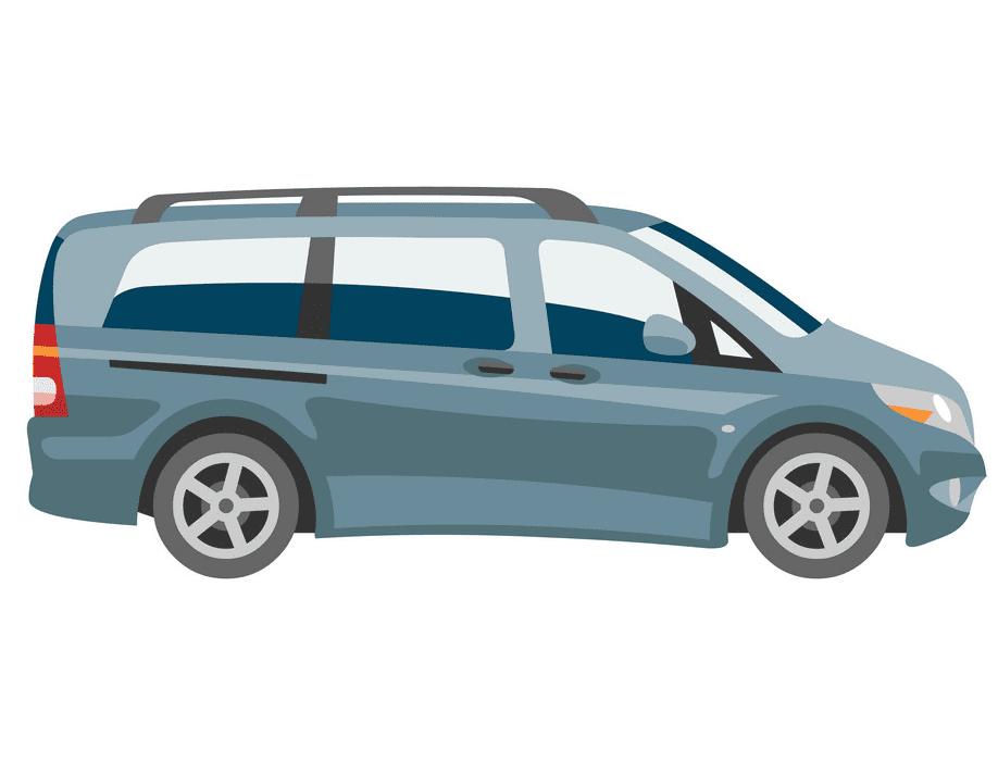 Mini Van clipart image