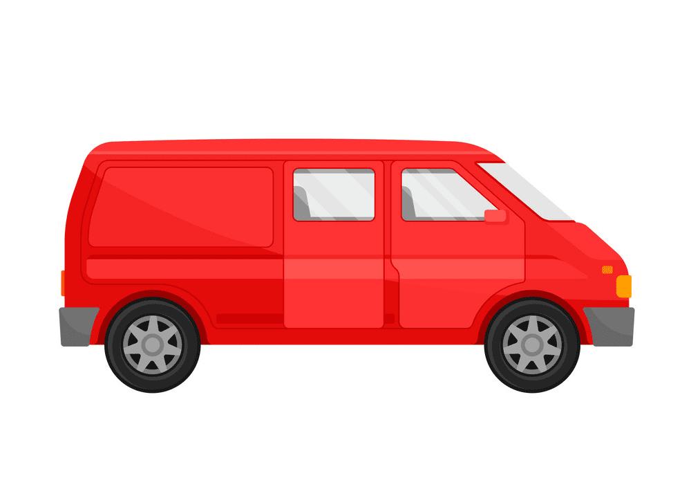 Mini Van clipart png