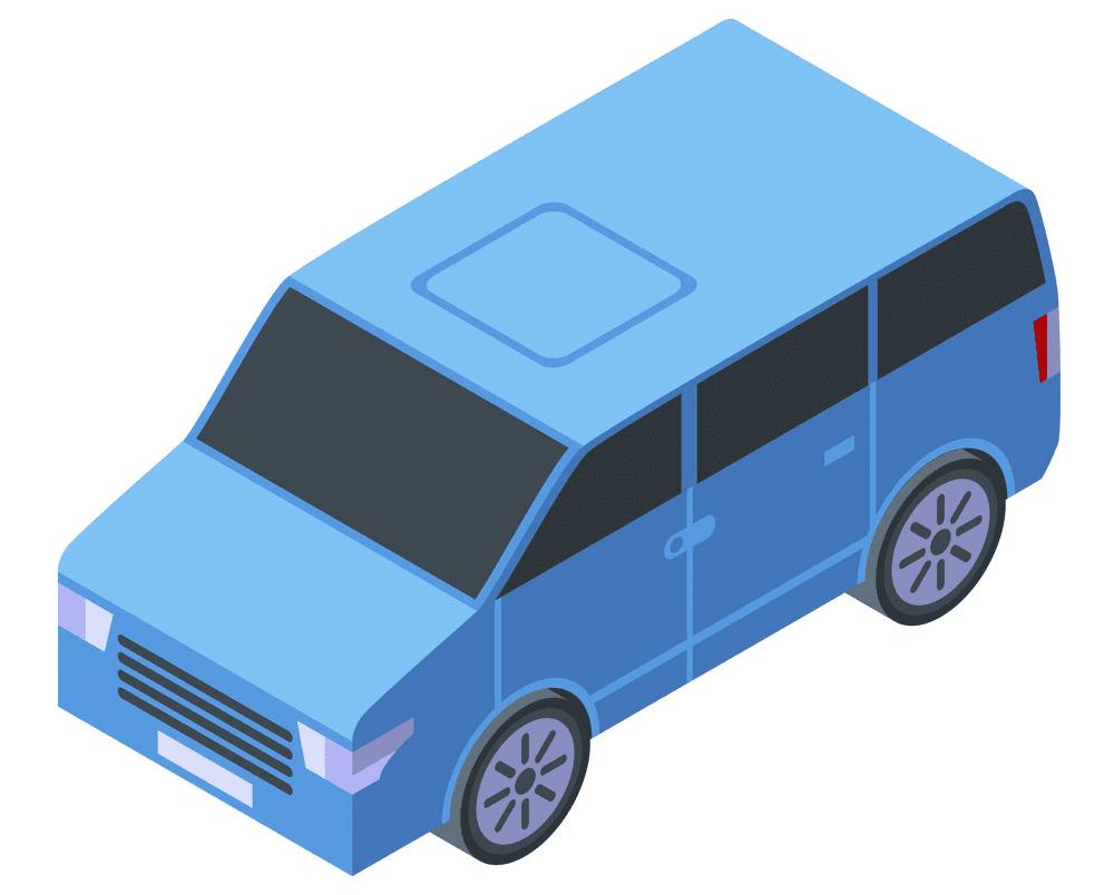 Mini Van clipart
