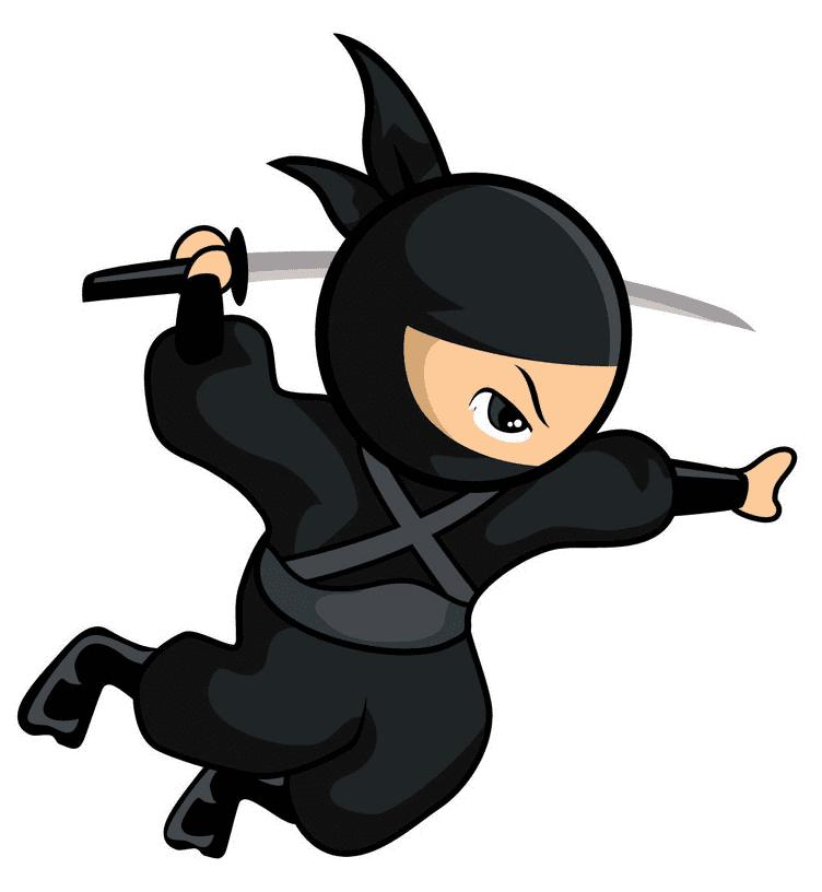 Ninja clipart 1