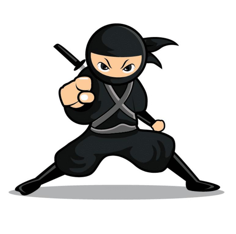 Ninja clipart 2