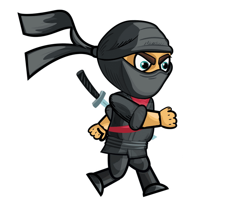 Ninja clipart 4
