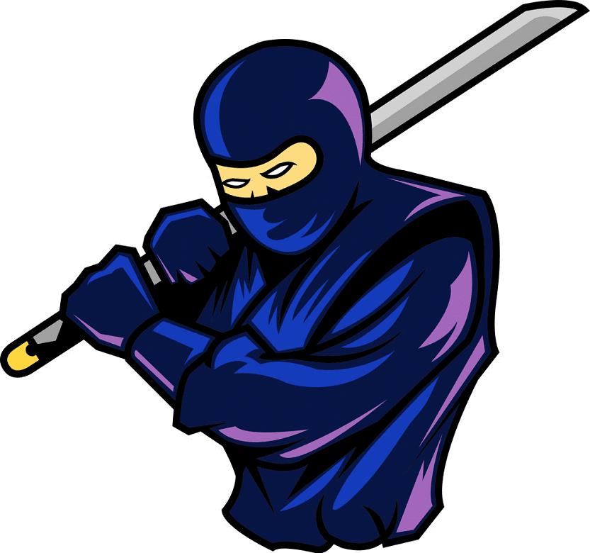 Ninja clipart for kids