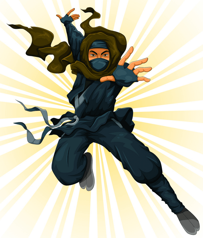 Ninja clipart free image