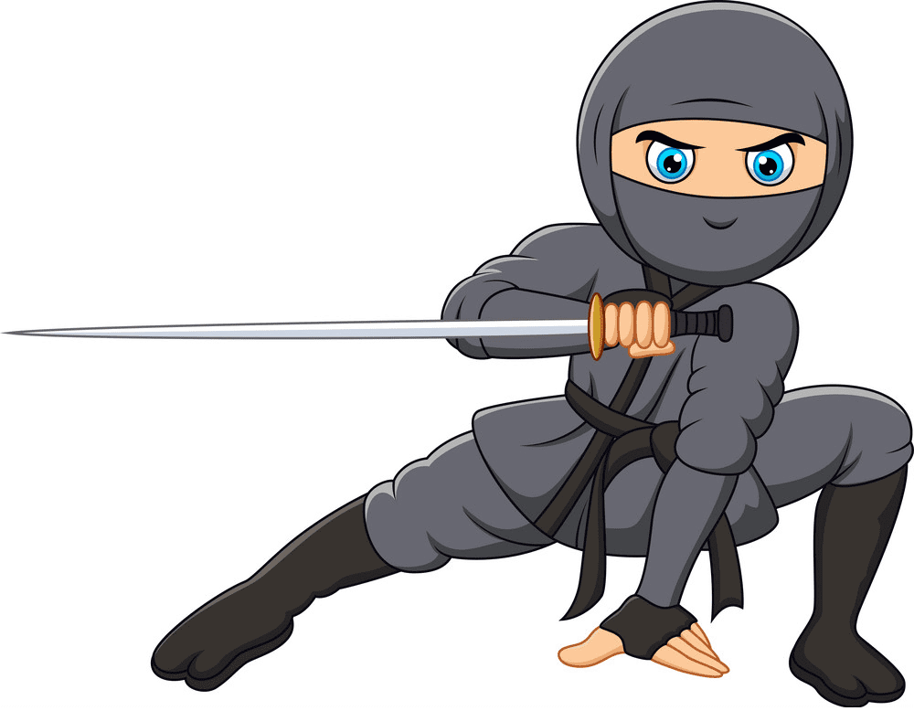 Ninja clipart free picture