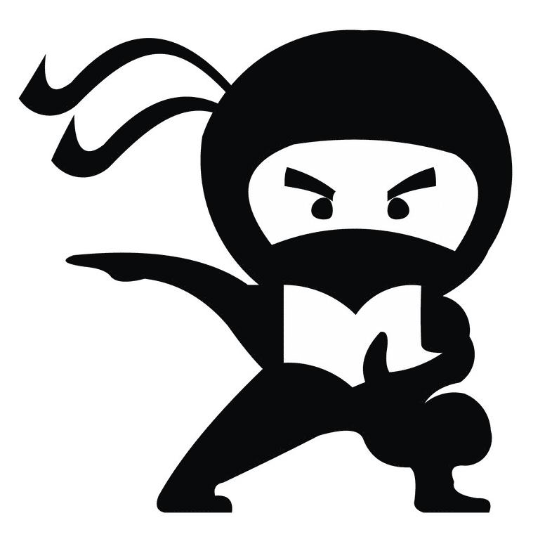 Ninja clipart picture