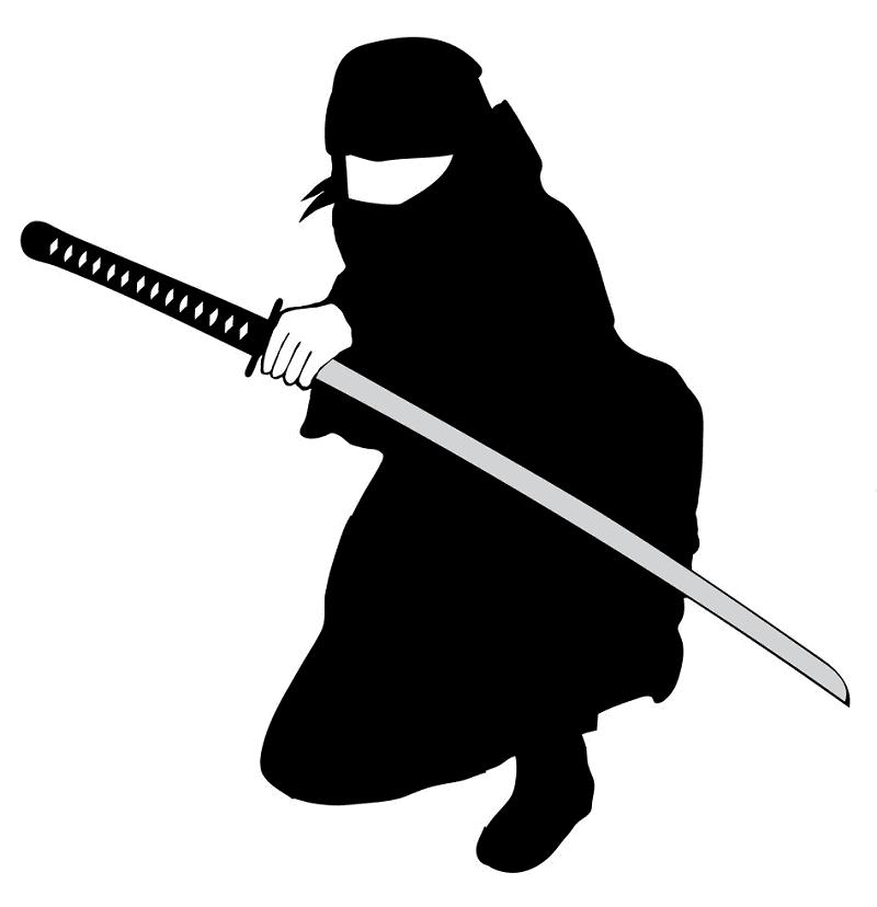 Ninja clipart png for kid