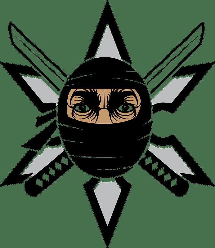 Ninja clipart transparent 11