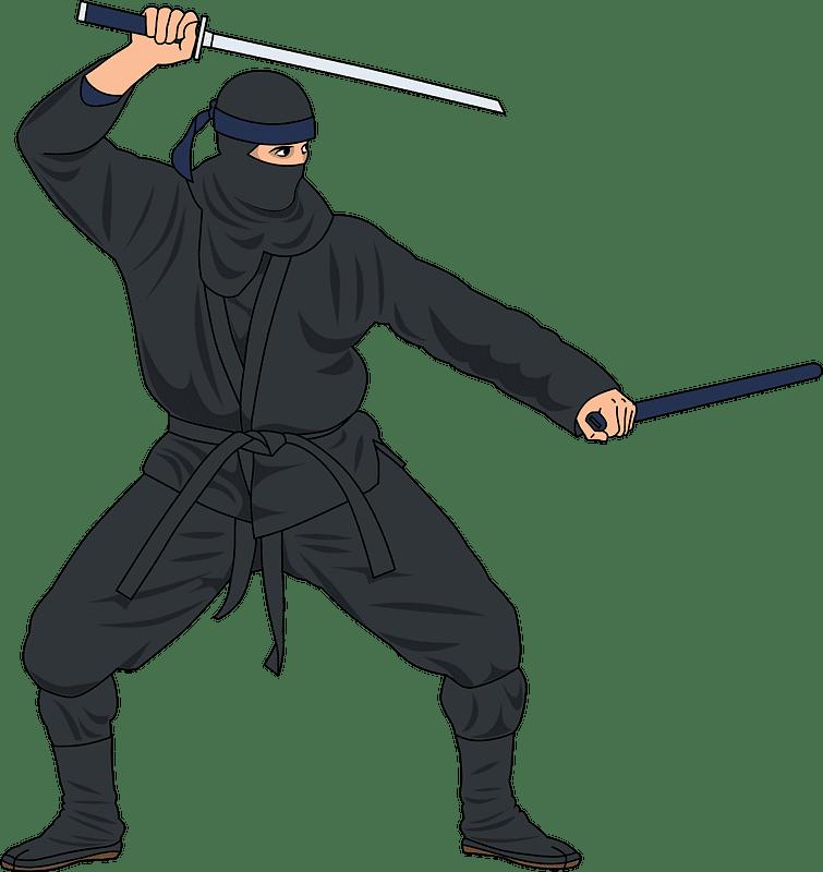 Ninja clipart transparent 3