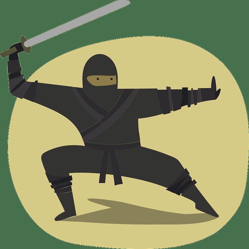 Ninja clipart transparent 4