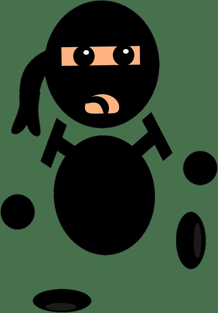 Ninja clipart transparent 6
