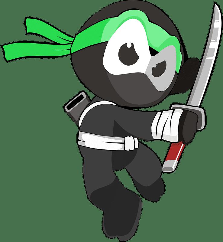 Ninja clipart transparent 7