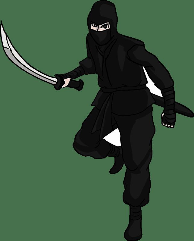 Ninja clipart transparent 8