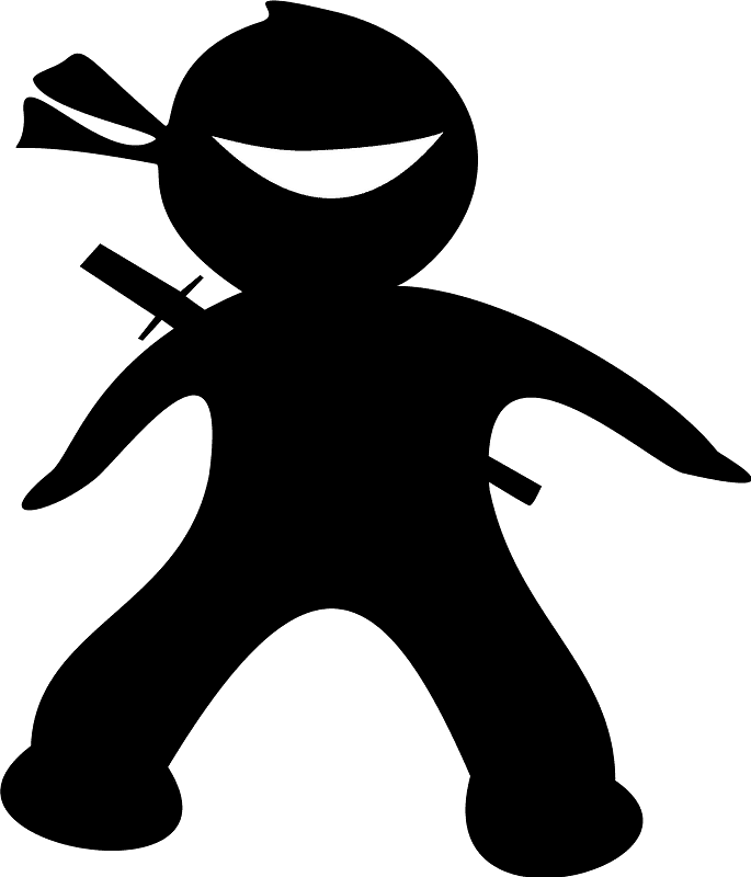 Ninja clipart transparent 9