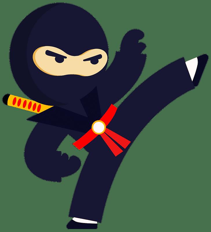 Ninja clipart transparent background 10