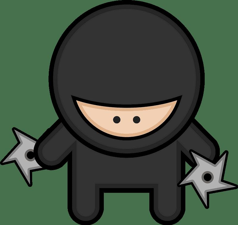 Ninja clipart transparent background 2