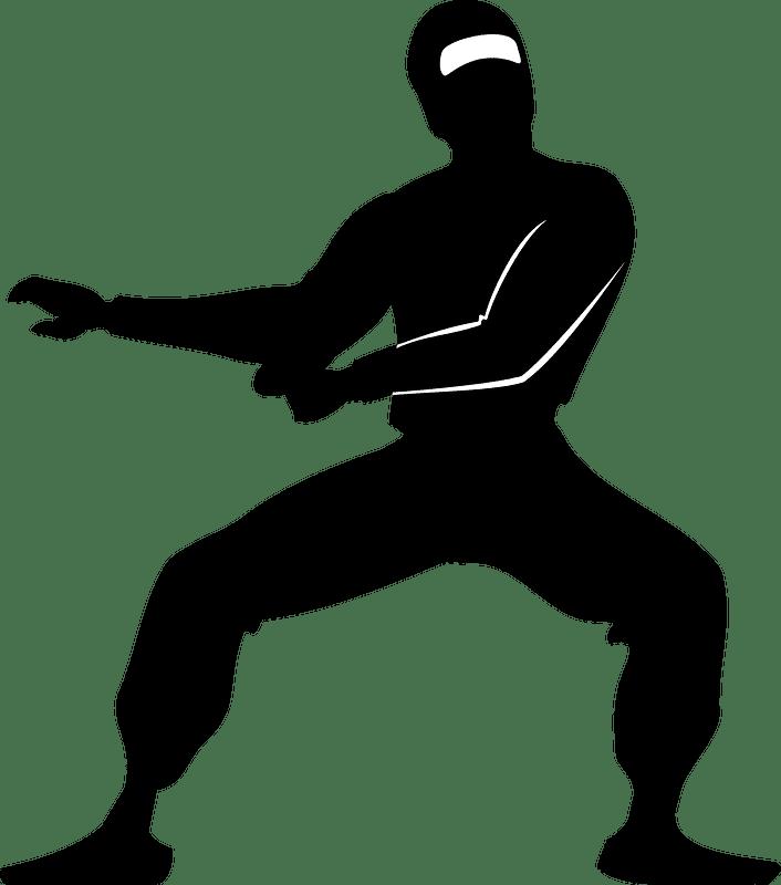 Ninja clipart transparent background 3