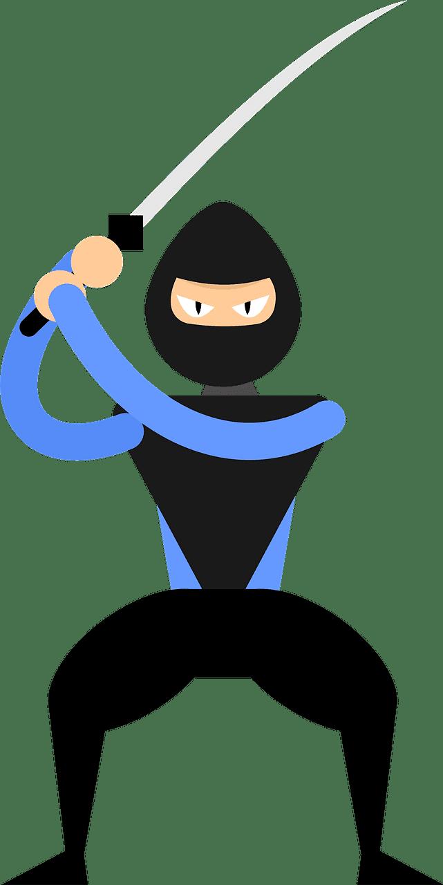 Ninja clipart transparent background 4