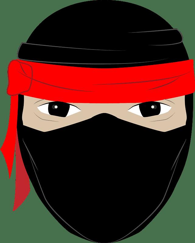 Ninja clipart transparent background 5