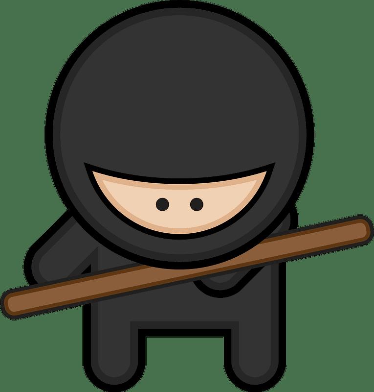 Ninja clipart transparent background 6