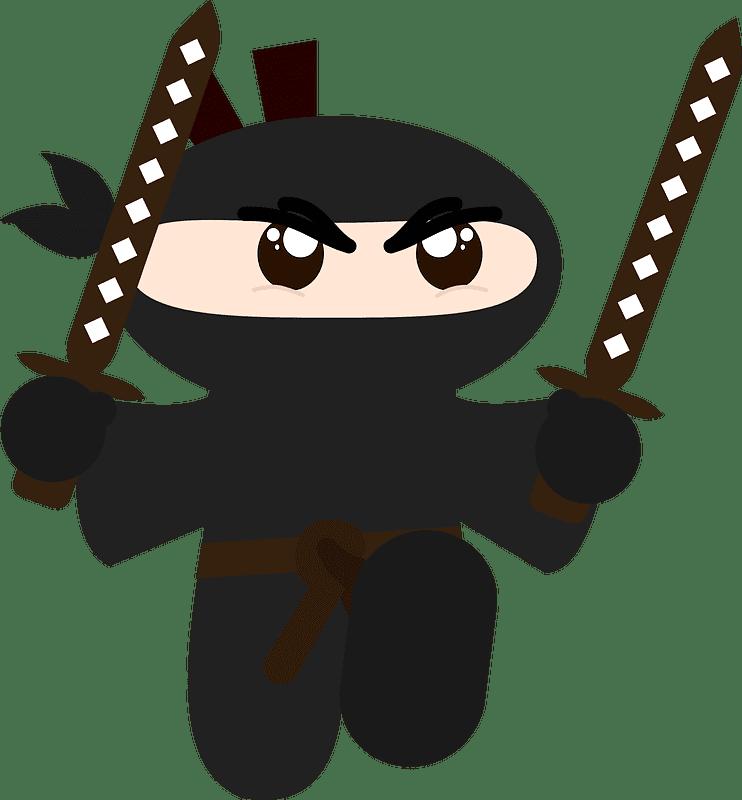 Ninja clipart transparent background 7