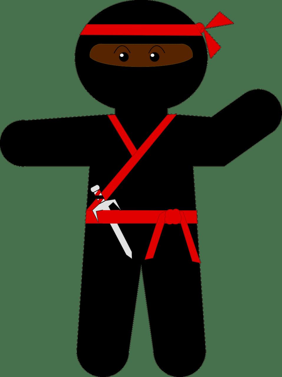 Ninja clipart transparent for free
