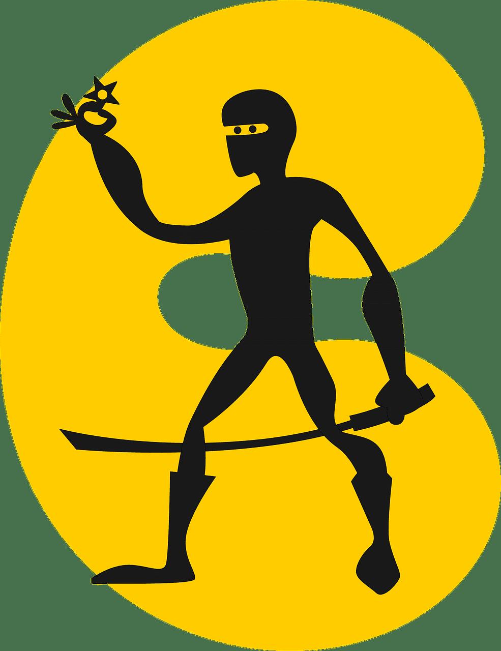 Ninja clipart transparent free